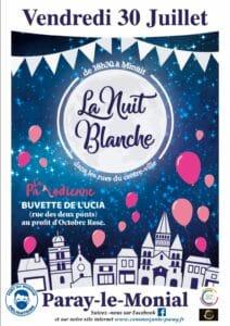 Read more about the article Soirée Blanche – 30 juillet