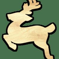 Déco Rennes de Noël modèle moyen